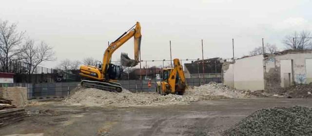 Радови на изградњи фискултурне сале у  Првој обреновачкој школи