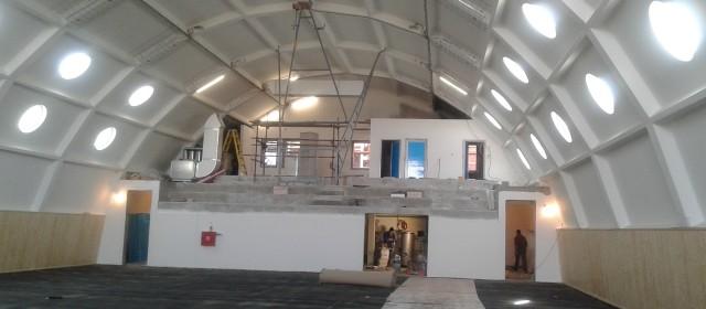 Изградња школске спортске сале у Основној школи у Грабовцу приводи се крају