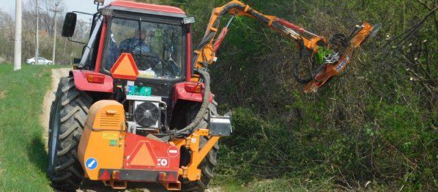 Нова опрема Јавног предузећа за изградњу од данас на терену