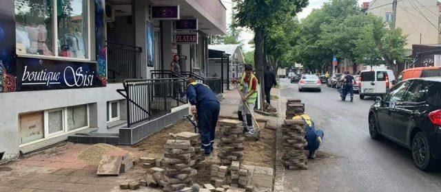 Наставља се реконструкција тротоара